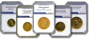 graded gold coins