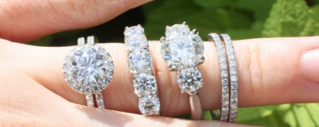 many diamond rings